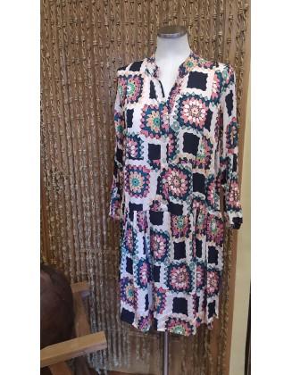 Vestido Dibujo Crochet