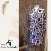 Vestiditos monísimos!! Con dibujo de crochet a todo color 💞💞 #vestido #color #crochet #estampados #dibujo #new #lookoftheday #ootd #otoño #estilo #moda #modamujer #diseño #tiendaderopa #boutique #boutiquealiciafernandez #comerciolocal #pequeñocomercio #ciudadlineal #pueblonuevo #calleemilioferrari #callealcala