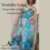 Miauuu... Monísimo Vestido!! 🥰🥰⠀ #vestido #estampados #gato #cat #midi #mangacorta #moda #modamujer #estilo #style #diseño #ootd #lookoftheday #boutique #boutiquealiciafernandez #tiendaonline #comerciolocal #tiendaderopa #ciudadlineal #pueblonuevo #callealcala #calleemilioferrari #primavera # verano #primavera2021 #verano2021⠀ ⠀ Publicado por @apphipost